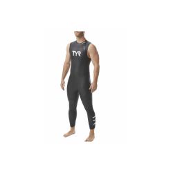 TYR Hurricane C1 sans manches - Combinaison Triathlon Homme Néoprène