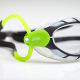 Lunettes Zoggs PREDATOR BLACK / LIME / CLEAR Smaller Fit