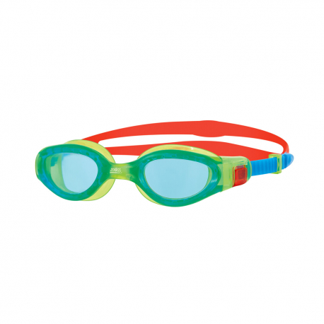 Lunettes Zoggs Predator Junior - Green Orange / Red Blue / Clear