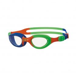 Lunettes Enfants ( à à 6 ans ) Zoggs Little Super Seal - Bleu / Orange / Green / Clear