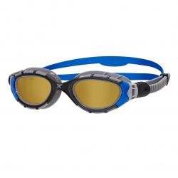 ZOGGS Predator Flex Polarisées Ultra - Smaller fit Black Blue Copper - Lunettes Triathlon et natation