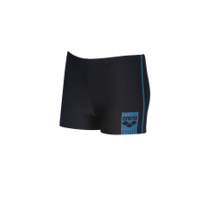 Arena BASICS (6-14 ans) Junior Short - Black Turquoise - Boxer Natation Garçon