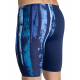 Arena TEAM PAINTED STRIPES Jammer - Navy Multi Turquoise