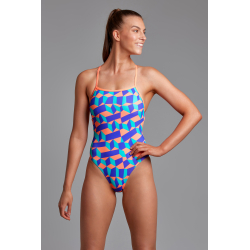 Funkita Stacked Candy Strapped In - Maillot de bain Femme Natation