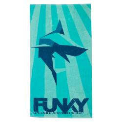 Serviette Funkita Shark Bay - Serviette pour la natation et la plage