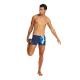 ARENA M VIBRATION Short - NAVY MULTI - Maillot Boxer Natation Homme