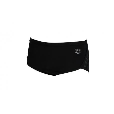 Arena Team Stripe - Low Waist Short - Black Black - Boxer Natation Homme