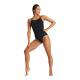 ARENA Team Stripe Super Fly Back one piece black-black - Maillot Natation Femme 1 pièce